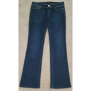 WHBM White House Black Market Blue Jeans Boot Leg